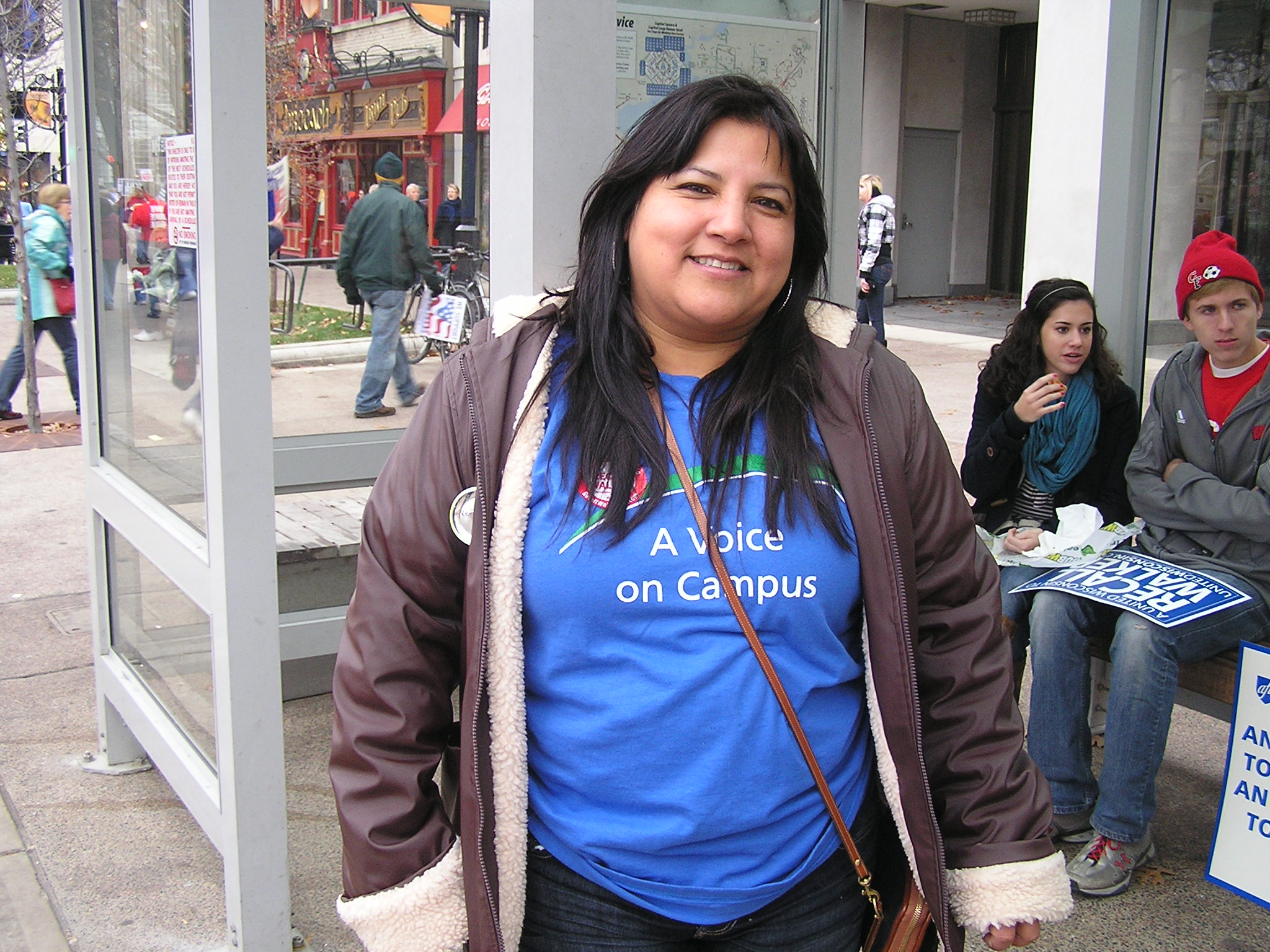 Teresa Tellez-Giron –  Voices from the Rally Crowd (pt I)