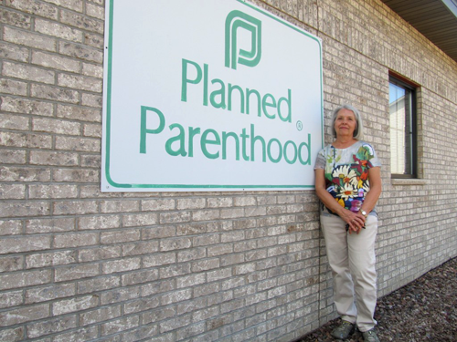 Carol Gahl, Chippewa Falls, WI  resident; Long-time involvement with Planned Parenthood includes work as a nurse, board member, and mother of patients.