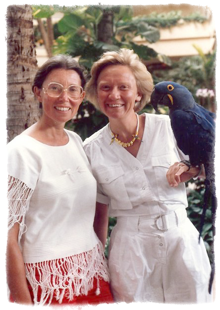 Goldin and Brown in Hawaii, 1984.